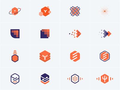 yugabyte DB logo - unused solutions logo design logo open source sql database startup startup branding startup logo corporate branding logodesign branding visual identity brand