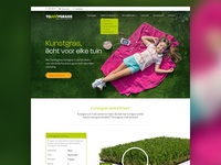 Artificial grass landingspage