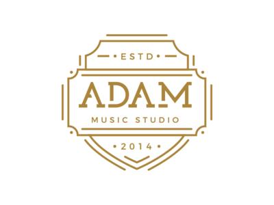 Adam Music Studio Badge