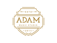 Adam Music Studio Badge