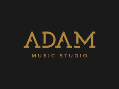 Adam Music Studio Logo