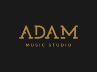 Adam Music Studio Logo
