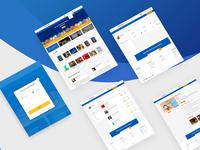 UI Design for eBook selling website