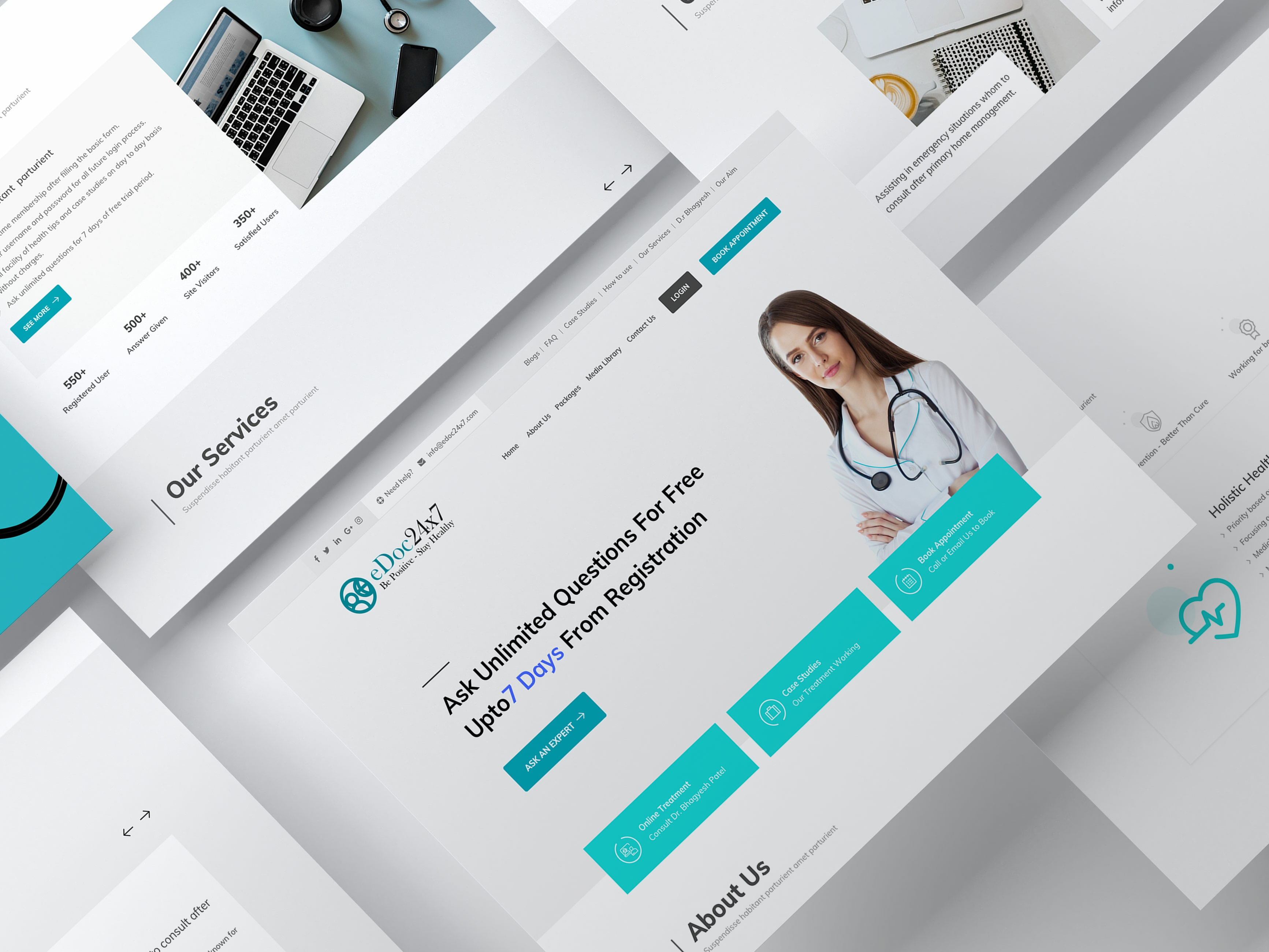 Edoc dribbble preview