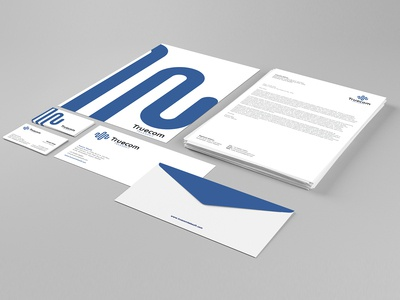 Corporate Stationery for Truecom Telesoft