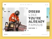 FFF- Fashion, Fun and Friends Web UI