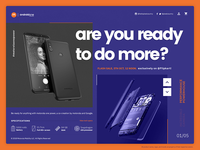 Motorola OnePower Website UI