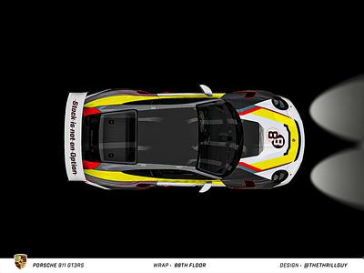 P O R S C H E 911 GT3RS | Wrap Design | #3 porsche 911 mercedes bmw audi automotive porsche car decals vinyl sticker decal dip wrap car wrap car design