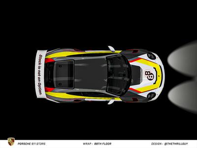 P O R S C H E 911 GT3RS | Wrap Design | #3