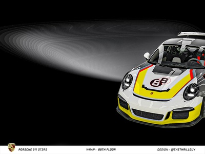 P O R S C H E 911 GT3RS | Wrap Design | #4 car mercedes porsche 911 audi bmw automotive porsche car decals vinyl sticker decal dip wrap car wrap car design