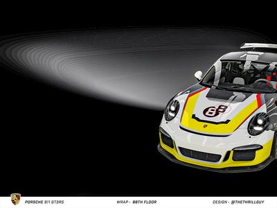 P O R S C H E 911 GT3RS | Wrap Design | #4