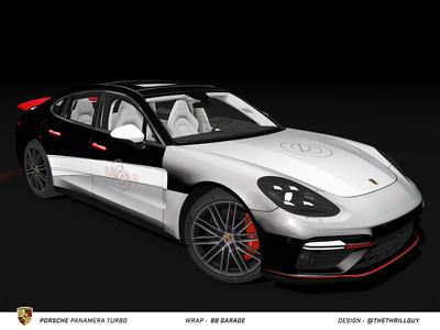 P O R S C H E Panamera Turbo | Wrap Design | #1