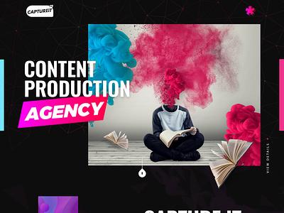 Captureit photoshop coding developers wordpress html designer web design websites esolzwebdesign simple clean typography ux ui illustration design esolz professional