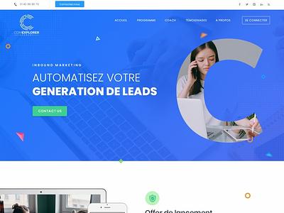 Comexplorer coreldraw photoshop wordpress designers uidesign html web design ux uiux ui design website simple clean typography esolzwebdesign ui illustration design esolz professional