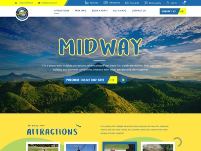 Midway web design design art wordpress designer website simple clean web esolzwebdesign ui illustration design ux esolz professional