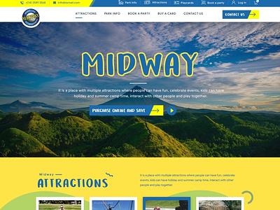 Midway web design design art wordpress designer website simple clean web esolzwebdesign ui illustration design ux esolz professional