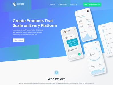 Enyata uidesign webdesigner theme esolzwebdesign ui illustration esolz professional template graphicdesign webdevelopment html css website design web wordpress webdesign