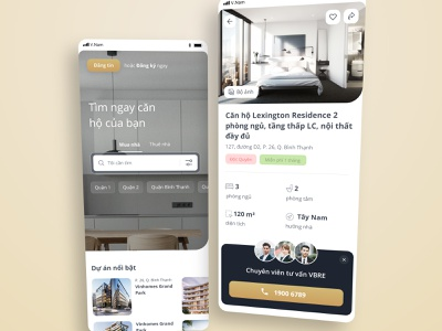 Real Estate Platform search agent mobile apartment room rent home