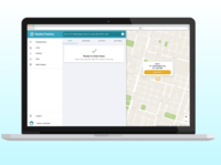 Keybot Web App - Lock View
