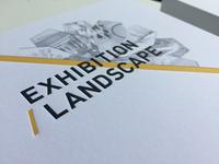 Exhibition Landscape postcards