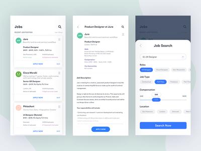 Job Applications for iOS