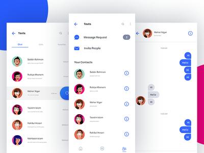 Instant Messaging App UI