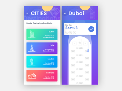 Exploration of Cities! Book your ticket.