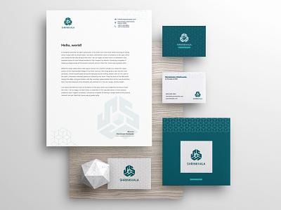 Visual Identity for Shrinkhala brand identity logo design branding