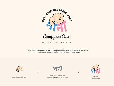 Nana Identity Design clothing logo design modern logo brand identity graphic design graphic design typography vector illustration logo concept branding design ui