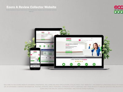 Eooro 2.0 branding ui web design