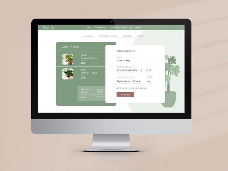 DailyUI 002 ecommerce design ecommerce green plants website design uidesign dailyuichallenge dailyui002 dailyui website ui webdesign web branding vector design