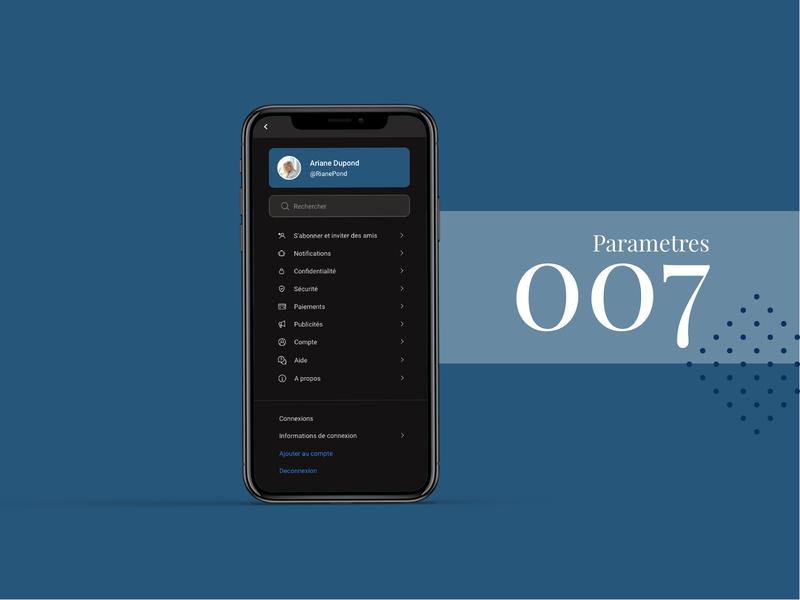 DailyUI 007 webdesigner designer mobile app design mobile ui mobile app dailyui007 dailyui dailyuichallenge ux design