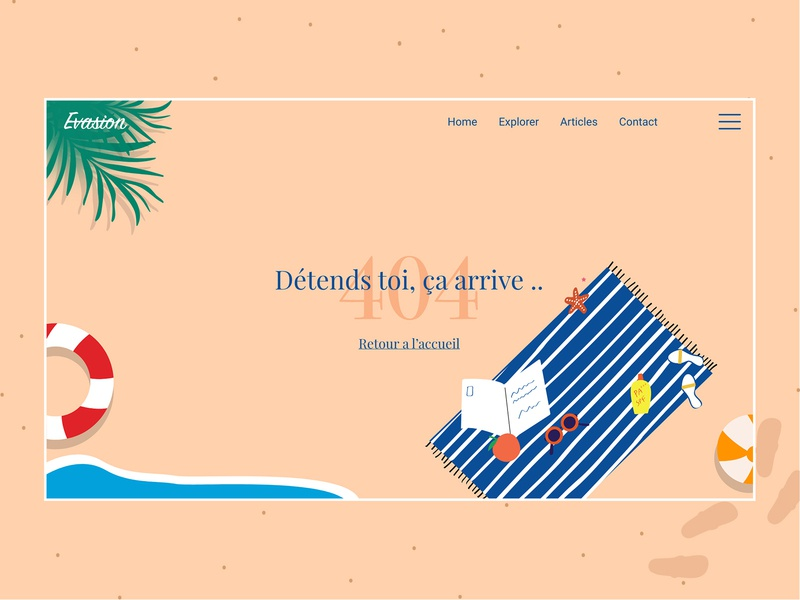 DailyUI 008 webdeisgn webdesign 404 error page dailyui008 dailyuichallenge ui dailyui