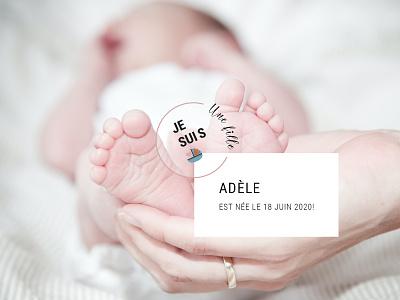 Logo baby girl designs branding girl baby design ui logotype logo design logo