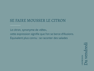 L'expression du vendredi designgraphic creation design vendredi moodboard citation expression