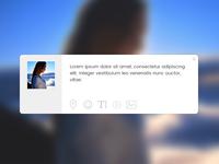 Daily UI #081 - Status Update