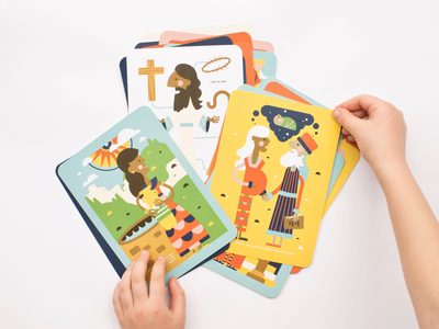 New Testament Conversation Cards are Here!