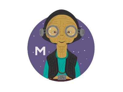 M is for Maz Kanata
