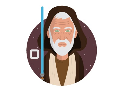 O is for Obi Kenobi ben kenobi the force awakens star wars obi wan obi wan kenobi