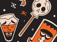 Spooky Sticker Sheets NOW AVAILABLE!