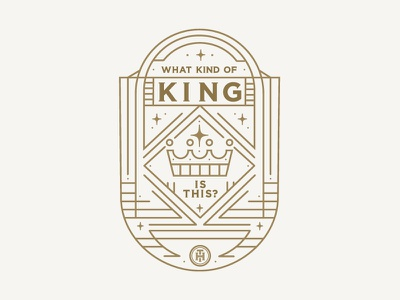Sermon Series Graphic stars heaven jesus crown king line art