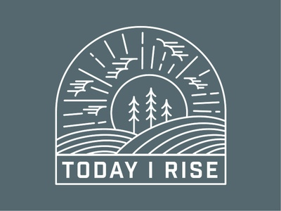 Today I Rise - Mug Design