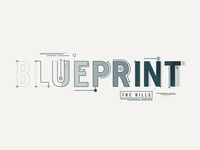 Blue Print - Sermon Series Graphics
