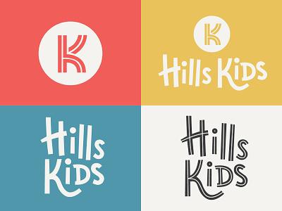 The Hills Nashville Brand Identity brand packaging brand identity church brand kids ministry kidsmin kidmin kids art kids brand