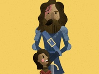 Arya & The Hound
