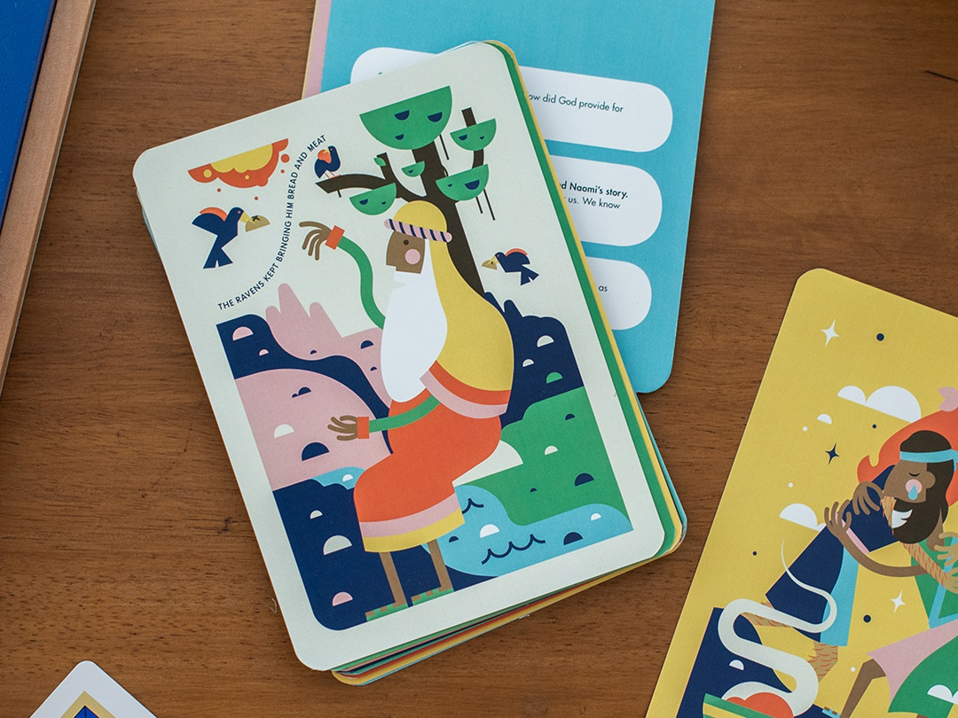 Kids Read Truth Conversation Cards kid brand kids ministry she reads truth kids read truth bible characters bible kids lit art