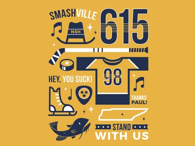 Nashville Predators Shirt