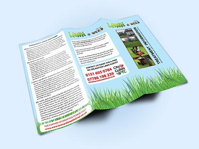 Tri Fold Brochure Mockup art design book cover design print design graphic design
