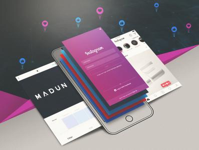 Social Media Splash Screen Design