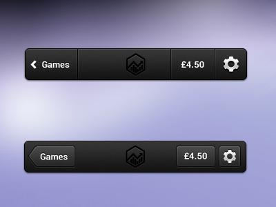 iOS header variants